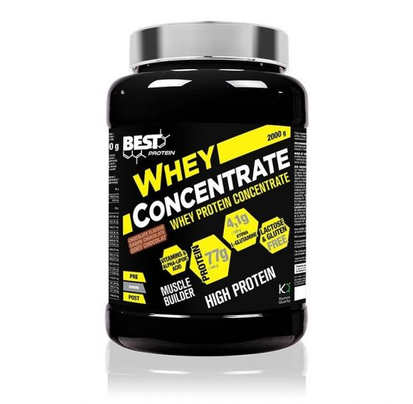 WHEY CONCENTRATE 2 KG