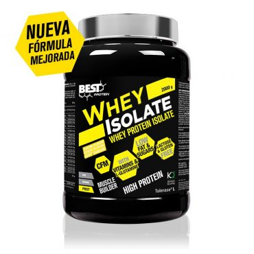 WHEY ISOLATED BEST 2KG PLATANO Y FRESA