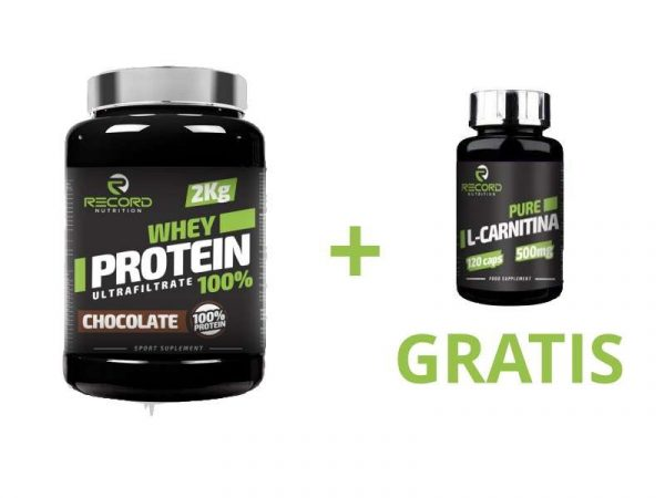 WHEY PROTEIN + L-CARNITINA