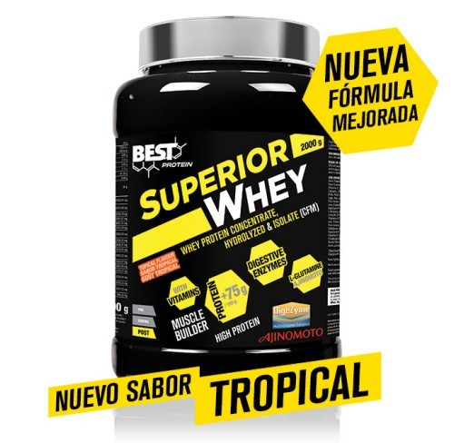 SUPERIOR WHEY 2OOOG SABOR TROPICAL