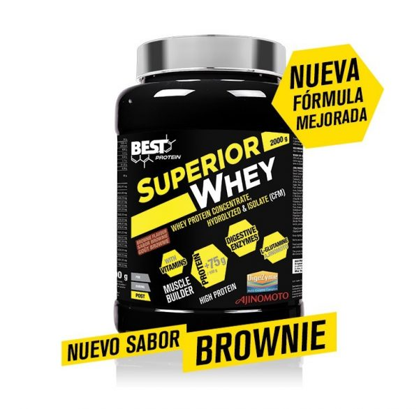 SUPERIOR WHEY 2OOOG SABOR BROWNIE